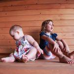 Лика и Полинка - лучший отдых с детьми в Абхазии на Каштаке