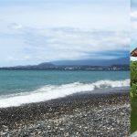 Пляж и коттедж в Абхазии