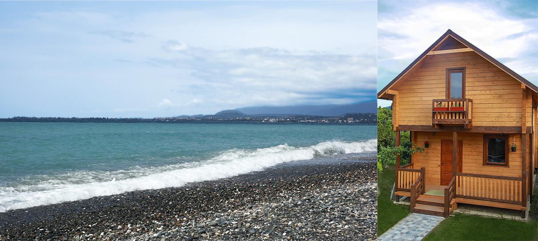 Абхазия снять виллу на берегу моря