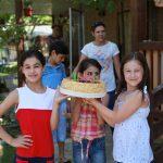 Торт для Богдана - лучший отдых с детьми в Абхазии на Каштаке