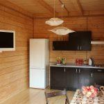 1 этаж, Кухня и часть гостиной
