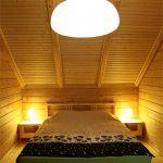 Спальня в коттедже в Абхазии Сухум