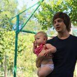 Молодой папа Юра - лучший отдых с детьми в Абхазии на Каштаке
