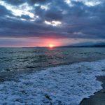 Море на Каштаке в Абхазии